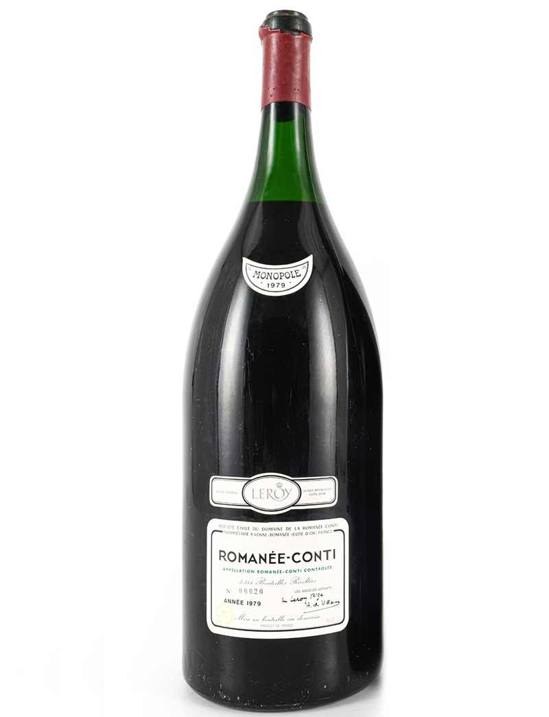 Lot 986: 1 Methuselah 1979 DRC Romanee Conti